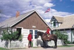 Original Baracke der North West Mounted Police von Banff, Heritage Park Calgary - Photo Credit: Travel Alberta